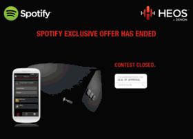 spotify.denon.com