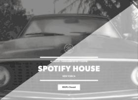 spotifyhouse.splashthat.com