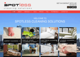 spotlesscleaningsolutions.com.au