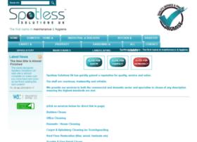 spotlesssolutions.co.uk