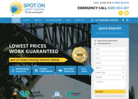 spotoncarpetcleaning.com.au