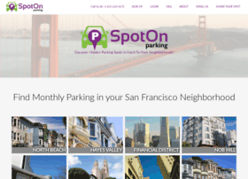 spotonparking.com