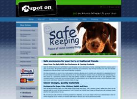 spotonpetenclosures.com.au