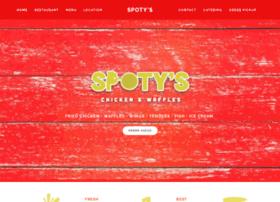 spotyschickenwaffles.com