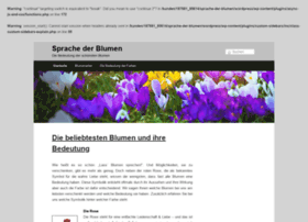 blumen schenken bedeutung websites and posts on blumen. Black Bedroom Furniture Sets. Home Design Ideas