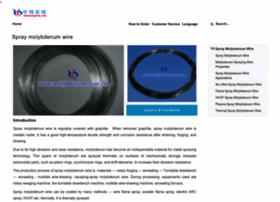 spray-molybdenum-wire.com