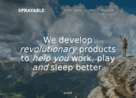 sprayablesleep.com