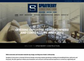 sprayberryconstruction.com