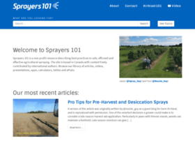 sprayers101.com