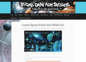 spraypaintartsecrets.com