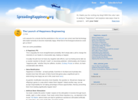 spreadinghappiness.org