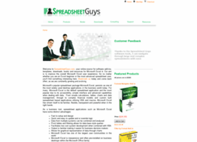spreadsheetguys.com