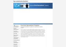 spreadsheetsbuilder.com