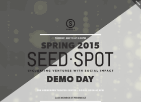 spring2015seedspotdemoday.splashthat.com
