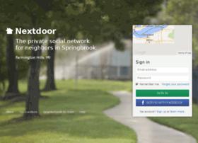 springbrookfh.nextdoor.com