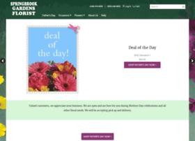 springbrookgardensflorist.com