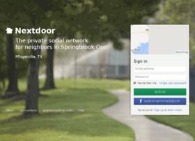 springbrookone.nextdoor.com
