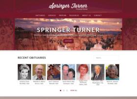 springerturner.tributecenteronline.com
