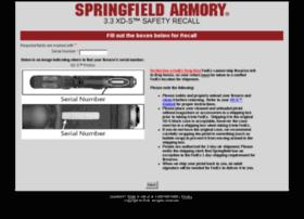 springfieldarmoryrecall.com