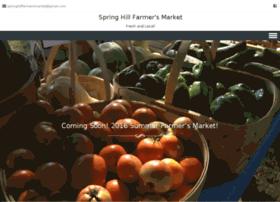 springhillfarmersmarket.org