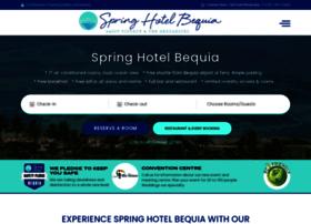 springhousebequia.com