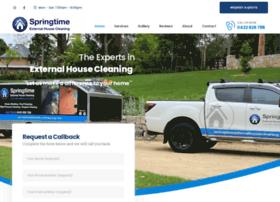 springtimeexternalhousecleaning.com