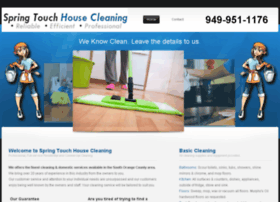 springtouchhousecleaning.com