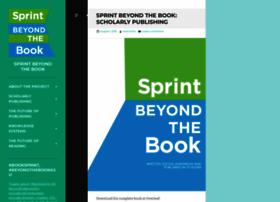 sprintbeyondthebook.com