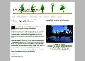 sprungfloorsolutions.com