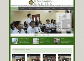 spumanila.edu.ph