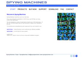 spyingmachines.com