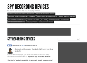 spyrecordingdevices.com