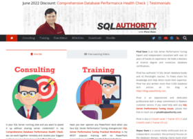 sqlauthority.com