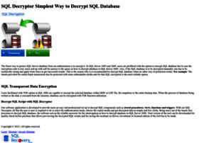 sqldecryptor.sqlrecoverytool.com