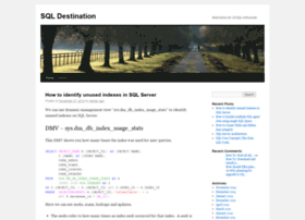 sqldestination.wordpress.com