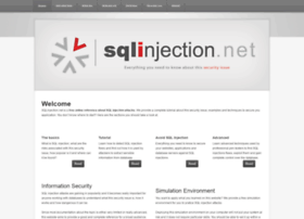 sqlinjection.net
