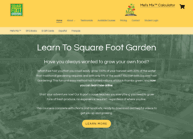 squarefootgardening.com