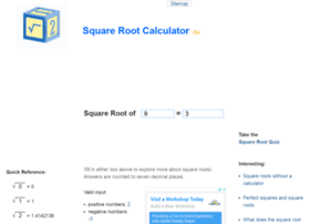 squarerootcalculator.co