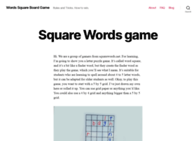 squarewords.net