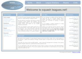 squashleagues.net