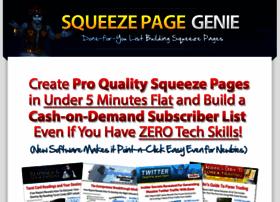 squeezepagegenie.com