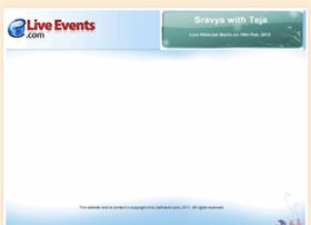 sravyawithteja.eliveevents.com