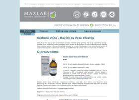 srebrnavoda-maxlab.com