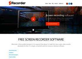 srecorder.com
