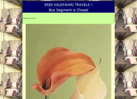 sreekaleswaritravels.com