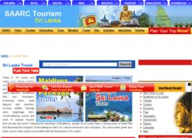 sri-lanka.saarctourism.org
