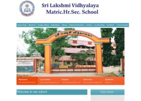 srilakshmividhyalaya.com