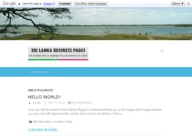 srilankagovernmentinfo.lankabusinesspage.com