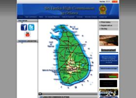 srilankahcottawa.org