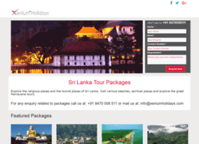 srilankatour.xeniumholidays.com
